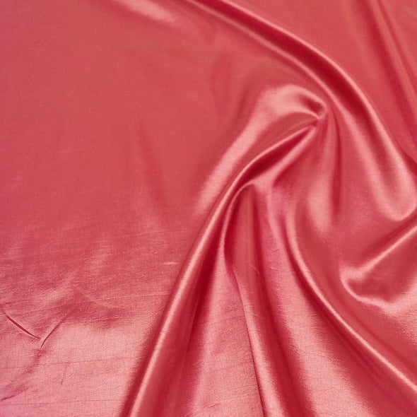 Taffeta (Solid) Table Runner in Coral 047