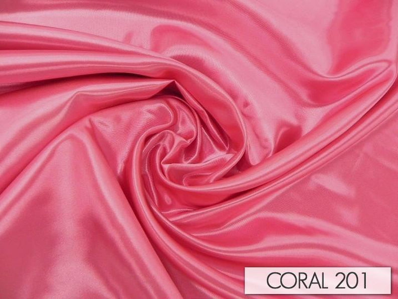 "100pcs - Bridal Satin - 8""x108"" Sash w/ Slanted Ends - Coral 201"