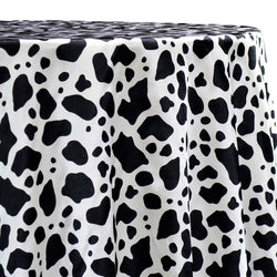 Animal Print Table Linen in Cow