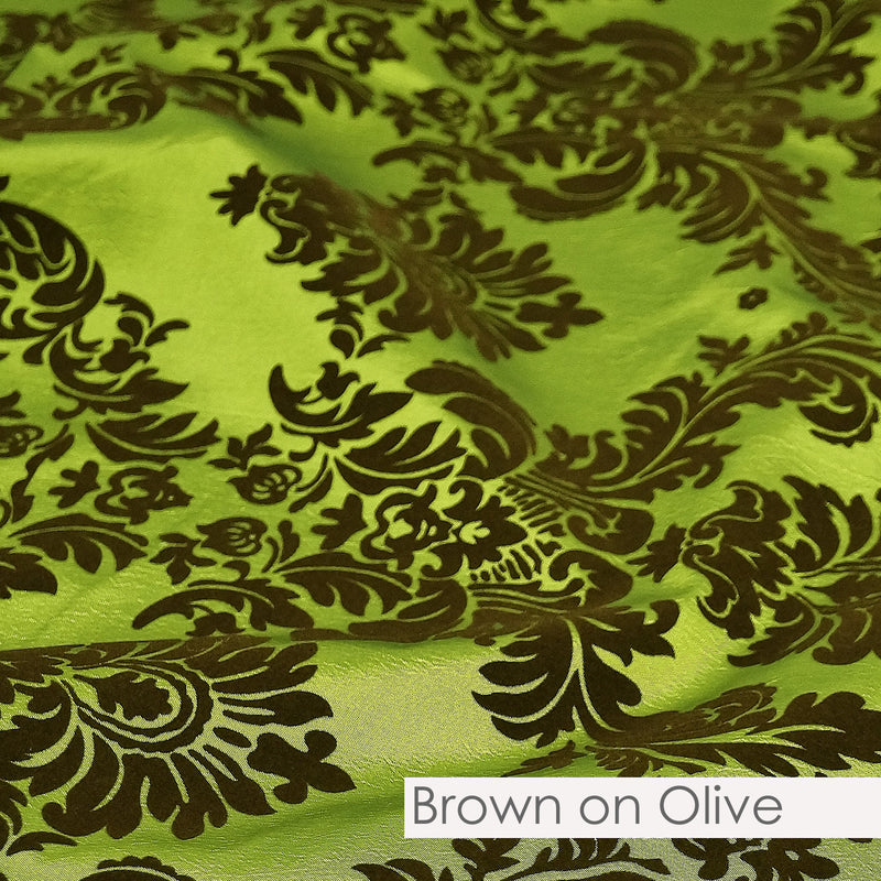 BROWN ON OLIVE