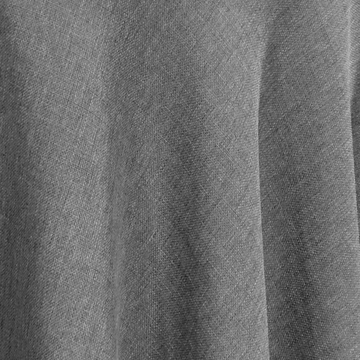 Rustic Linen (100% Poly/Double-Wide) Wholesale Fabric in Dark Grey