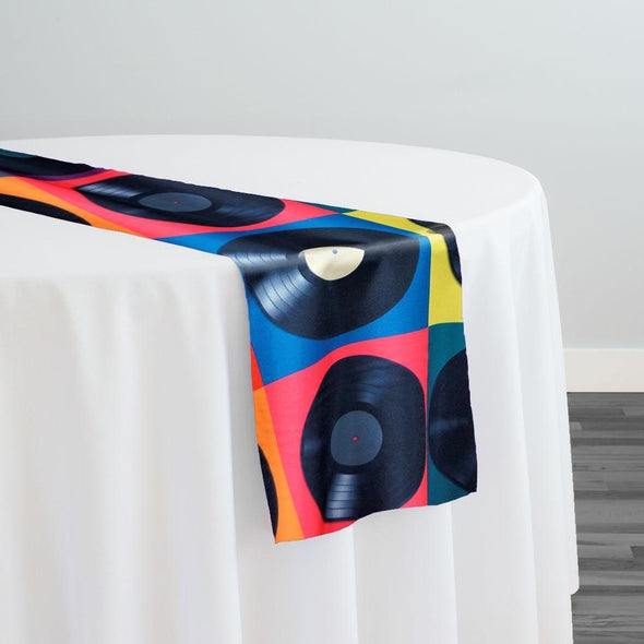 Disco (Poly Print) Table Runner