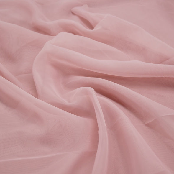 Voile Wholesale Fabric in Dusty Rose 7003