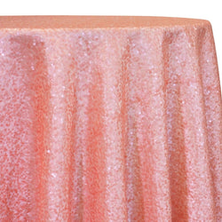 Taffeta Sequins Table Linen in Dusty Rose