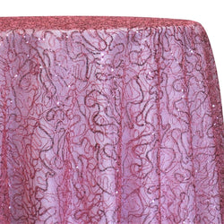 Bedazzle Table Linen in Dusty Rose
