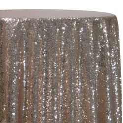 Glitz Sequins Table Linen in Dusty Rose