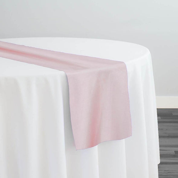 Crystal Organza Table Runner in Dusty Rose 165