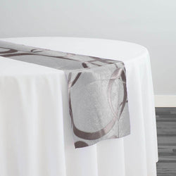 Cirque Jacquard (Reversible) Table Runner in Dusty Rose