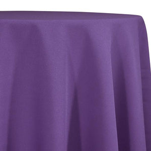 Eggplant Tablecloth in Polyester for Weddings