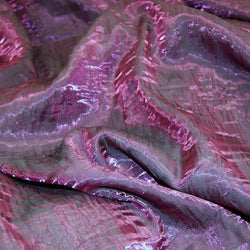 Crush Shimmer (Galaxy) Table Linen in EggPlant 32