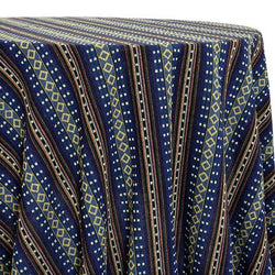Ethnic Stripe (Knit-Look) Table Linen