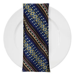 Ethnic Stripe (Knit-Look) Table Napkin