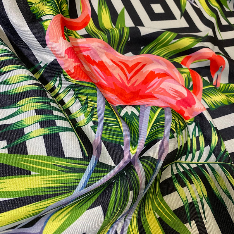 Flamingo (Poly Print) Table Linen