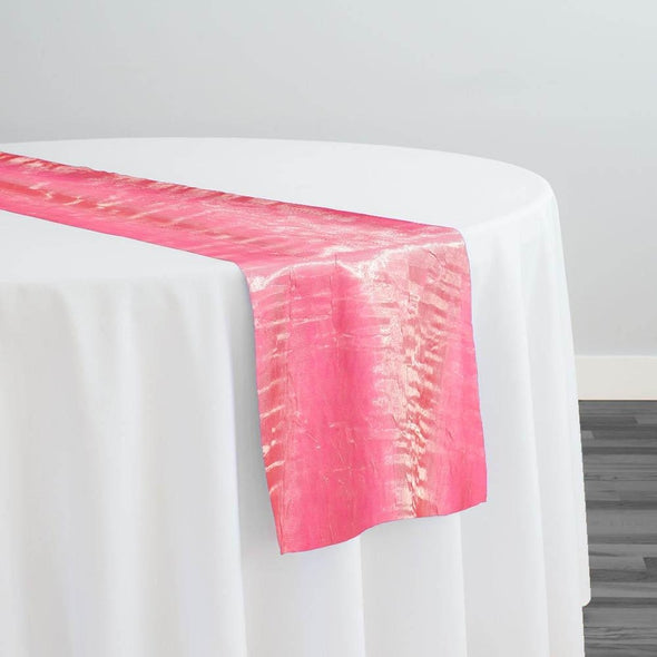 Crush Shimmer (Galaxy) Table Runner in Flamingo Pink 33