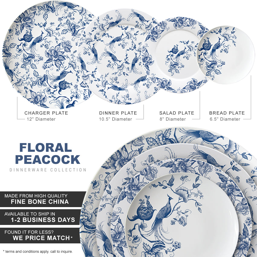 Floral Peacock Collection