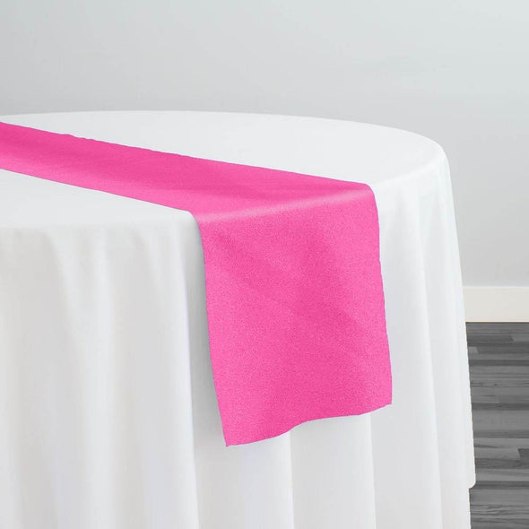 Premium Polyester (Poplin) Table Runner in Fuchsia 1220
