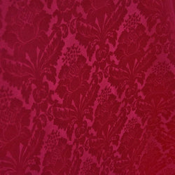 Damask Poly Table Linen in Fuchsia 1225