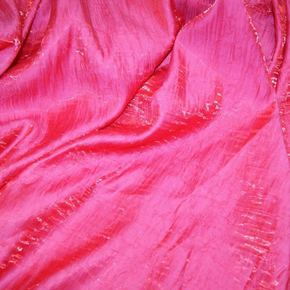Crush Shimmer (Galaxy) Table Runner in Fuchsia 3