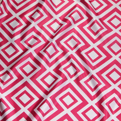 Paragon Print (Lamour) Table Linen in Fuchsia
