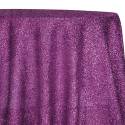 Confetti Metallic Table Linen in Fuchsia
