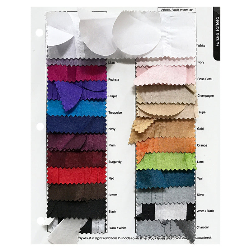 "Funzie Circle Hanging Drapery Panels (58"" Wide) / 20 Colors"