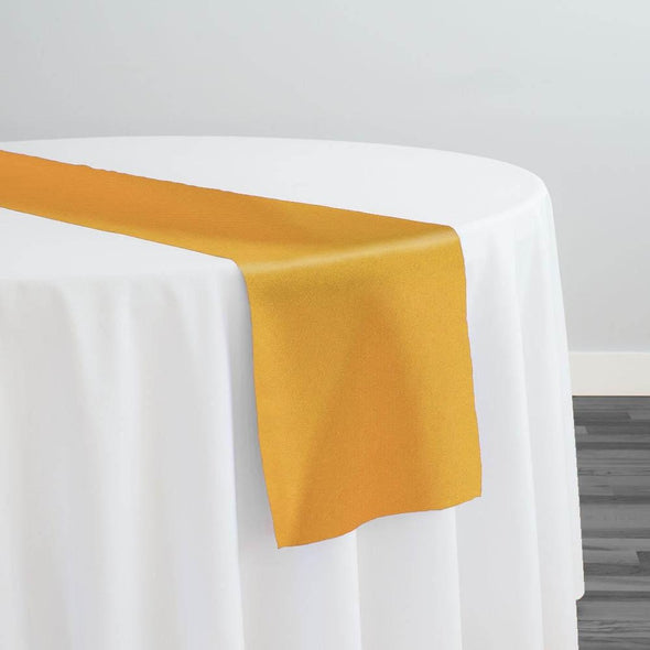 Premium Polyester (Poplin) Table Runner in Gold 1327