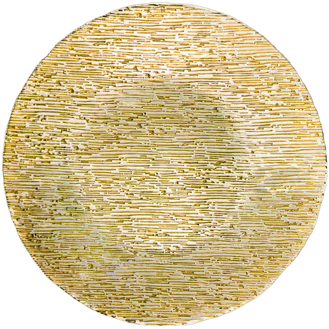 Static - Glass Charger Plate in Gold
