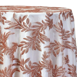 Giselle Sequins Table Linen in Blush