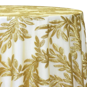 Giselle Sequins Table Linen in Gold