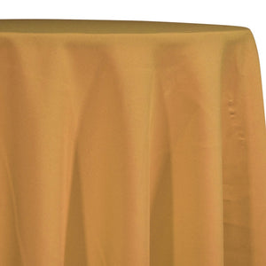 Premium Poly (Poplin) Table Linen in Gold 1326