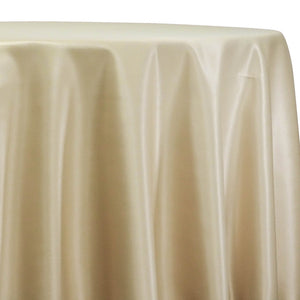Lamour (Dull) Satin Table Linen in Gold 1326