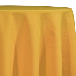 Premium Poly (Poplin) Table Linen in Gold 1327