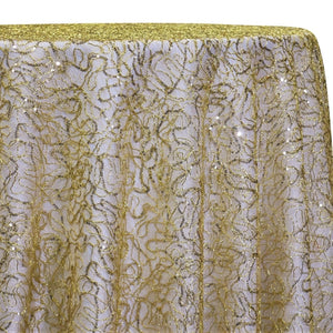 Bedazzle Table Linen in Gold 18k