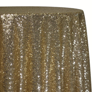 Glitz Sequins Table Linen in Gold 18K