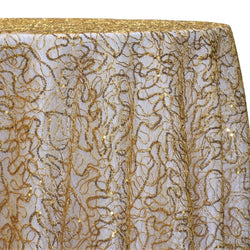 Bedazzle Table Linen in Gold 24k
