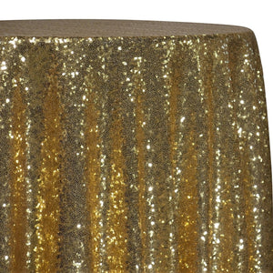 Glitz Sequins Table Linen in Gold 24K