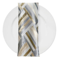 Broadway (Double-Sided) Table Napkin in Gold