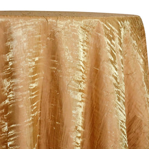 Crush Shimmer (Galaxy) Table Linen in Gold 30