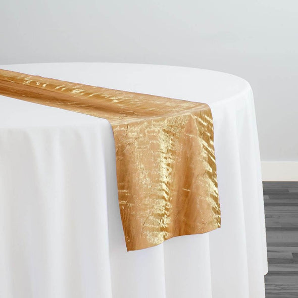 Crush Shimmer (Galaxy) Table Runner in Gold 30