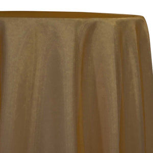 Crystal Organza Table Linen in Gold 319