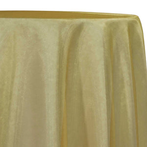 Crystal Organza Table Linen in Gold 901