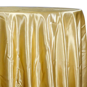 Bridal Satin Table Linen in Gold 902
