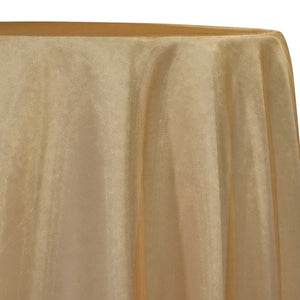 Crystal Organza Table Linen in Gold 902