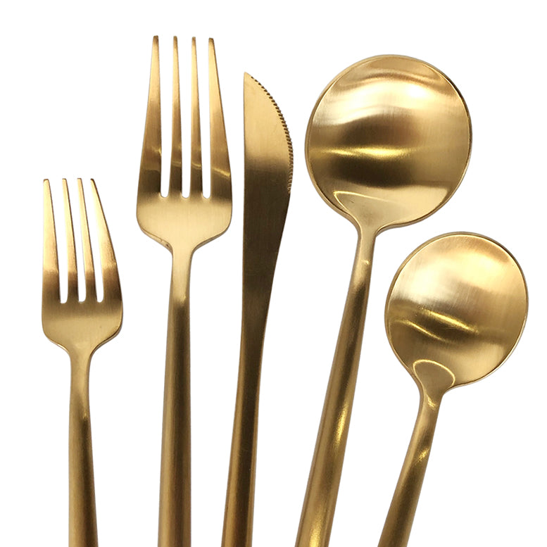 Luna Klasik - Flatware/Cutlery Set in Gold