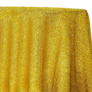 Confetti Metallic Table Linen in Gold