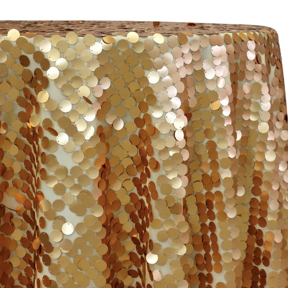 Payette Sequins Table Linen in Gold