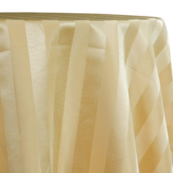 Imperial Stripe Table Linen in Gold