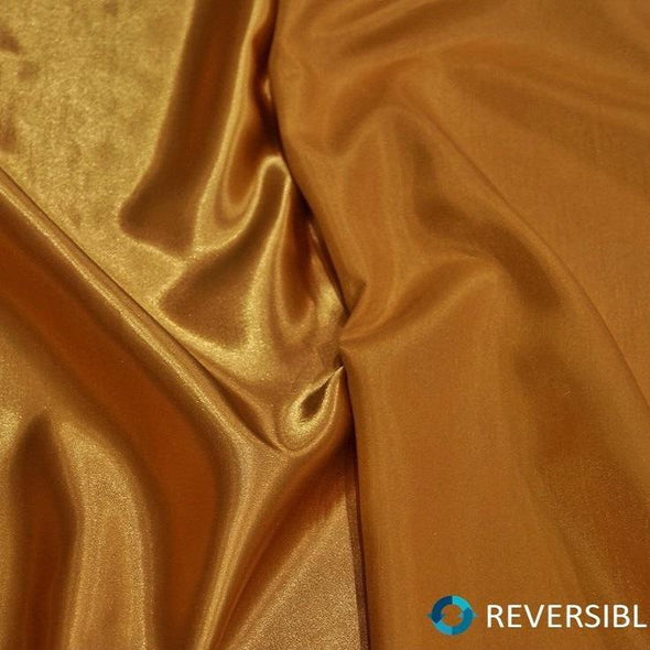 Shantung Satin Table Runner in Gold