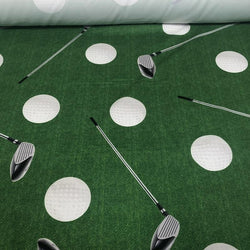 Sports (Poly Print) Table Linen Golf