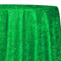 String Metallic Table Linen in Green